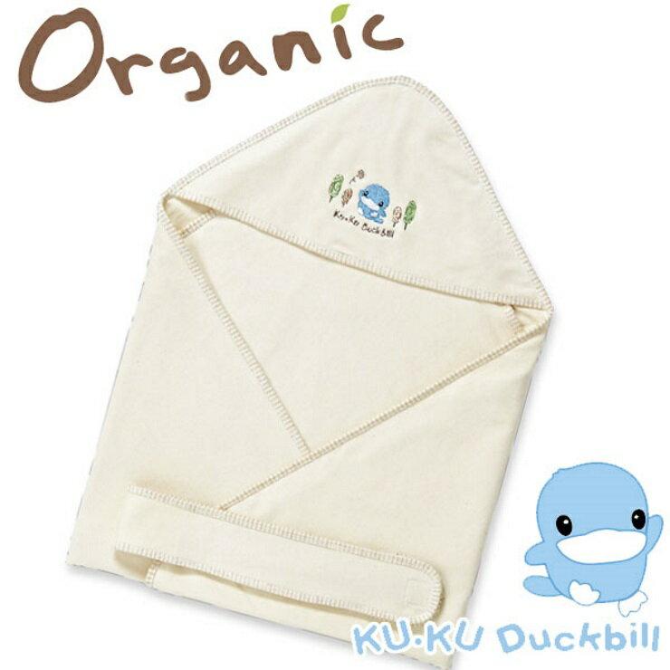 KUKU酷咕鴨有機純棉抱巾