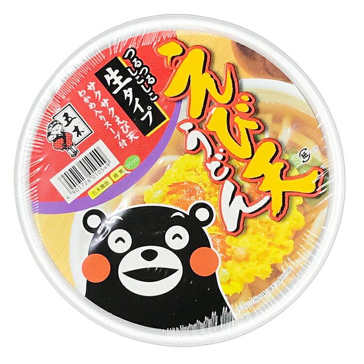 日本 五木 炸蝦天婦羅烏龍麵(172g)【庫奇小舖】