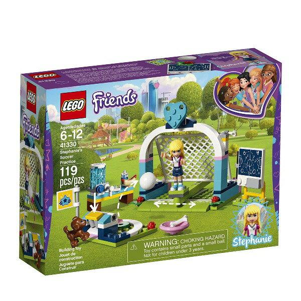 【LEGO 樂高積木】Friends 姊妹淘系列-斯蒂芬妮的足球練習 LT-41330