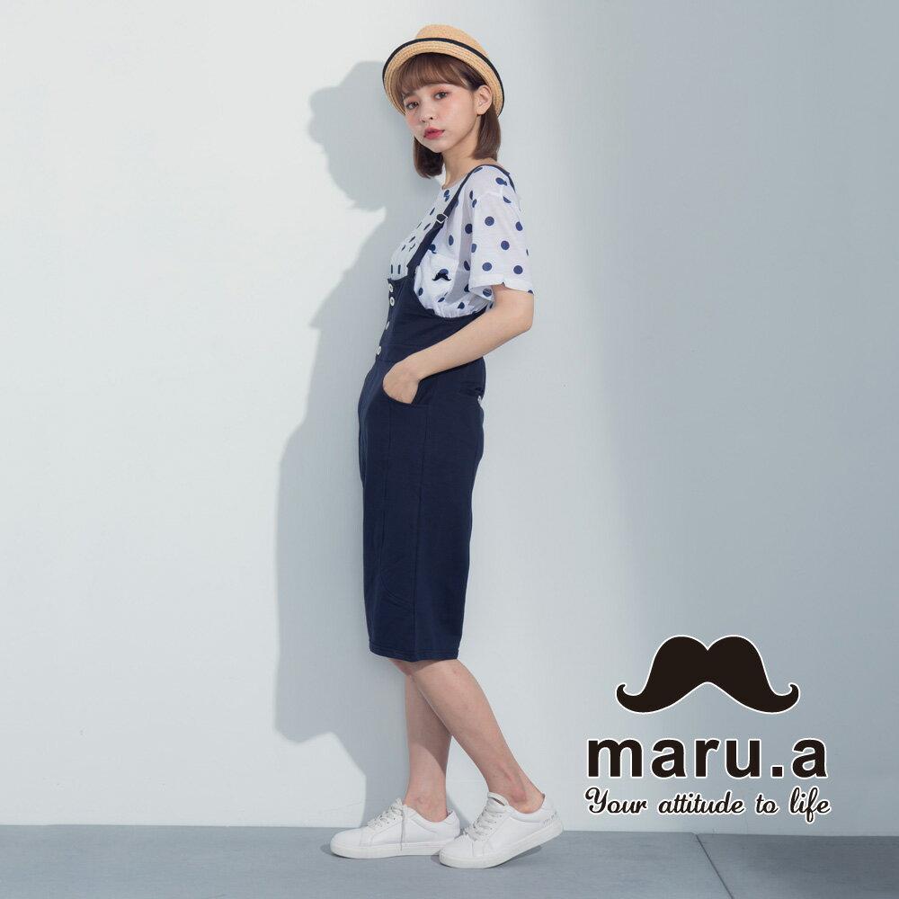 【maru.a】滿版圓點小口袋上衣7321224 4