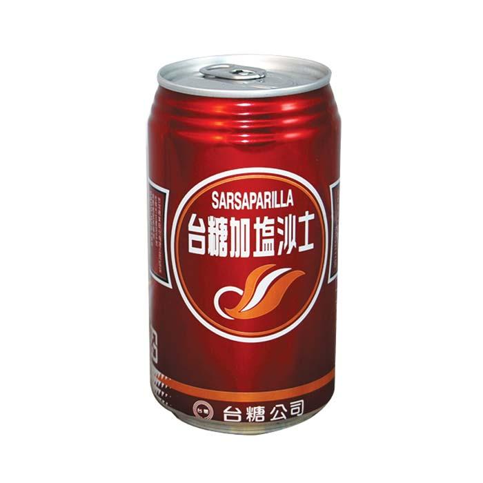 台糖 加塩沙士 易開罐 330ml (24入)x2箱【康鄰超市】