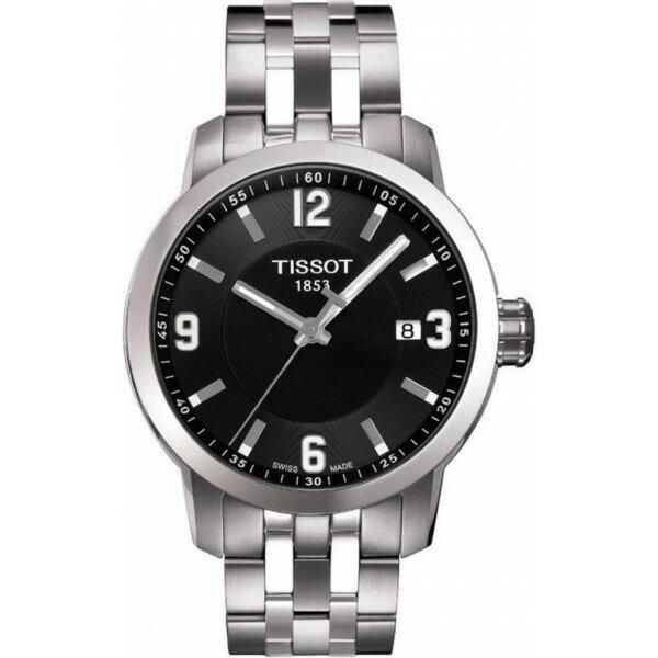 TISSOT天梭T0554101105700 PRC200石英經典腕錶/黑面39mm