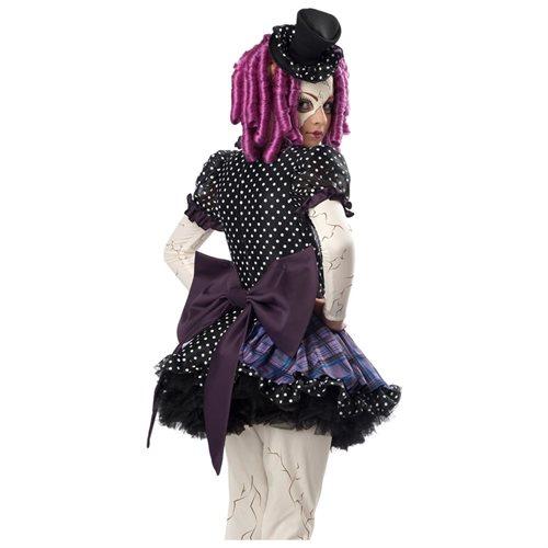 Broken Doll Costume for Girl's 1