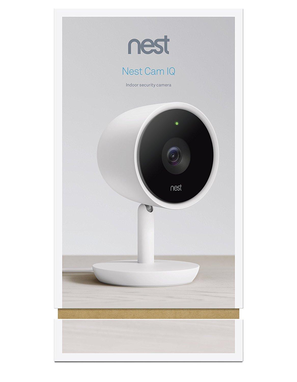 Nest Cam IQ NC3100US White -New 4
