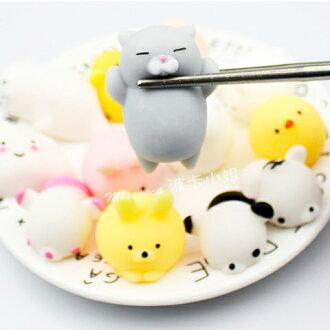 《波卡小姐》日本治癒系慵懶貓捏捏樂玩具 紓壓療癒小物 Zakka可愛雜貨 創意小禮物 (袋裝)[PN-S004]