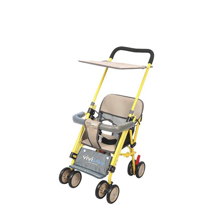 ViVibaby Easy Go 推車機車椅(黃藍/黃咖) C27812B/C27812K
