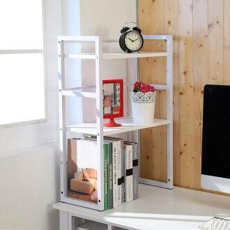 時尚流行書架 主機架 桌上架 置物架 收納架 雜誌架【馥葉】 型號SH524