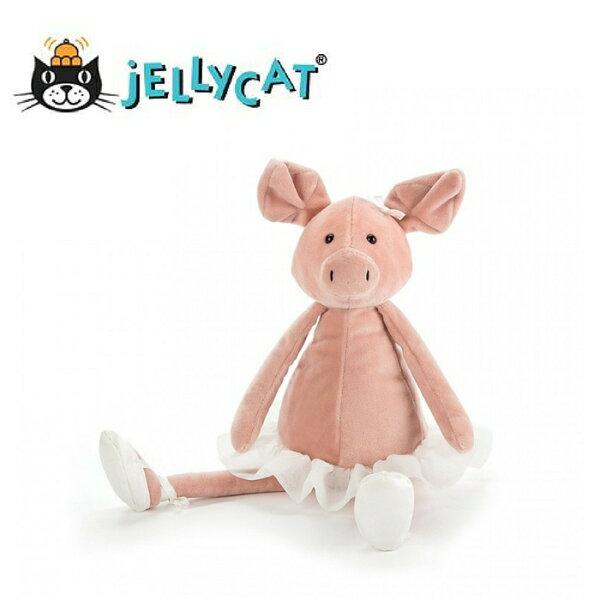 ★啦啦看世界★Jellycat英國玩具芭蕾粉紅豬玩偶彌月禮生日禮物情人節聖誕節明星療癒辦公室小物