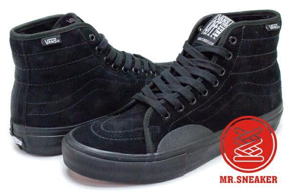 ☆Mr.Sneaker☆VANSAVSK8-HIPRO高筒黑色男段