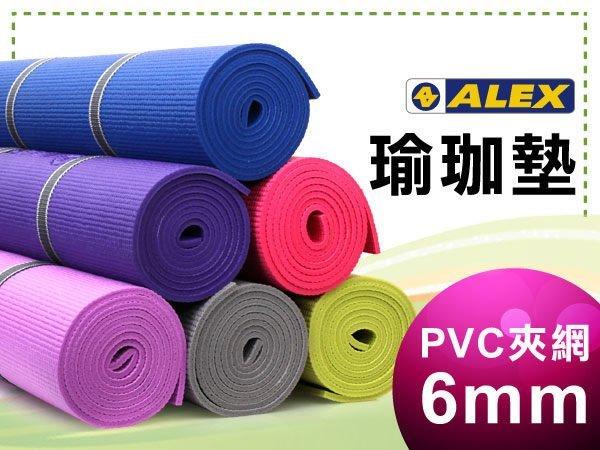 H.Y SPORT【 ALEX】瑜珈墊-有氧 塑身 健身地墊 (附提袋)