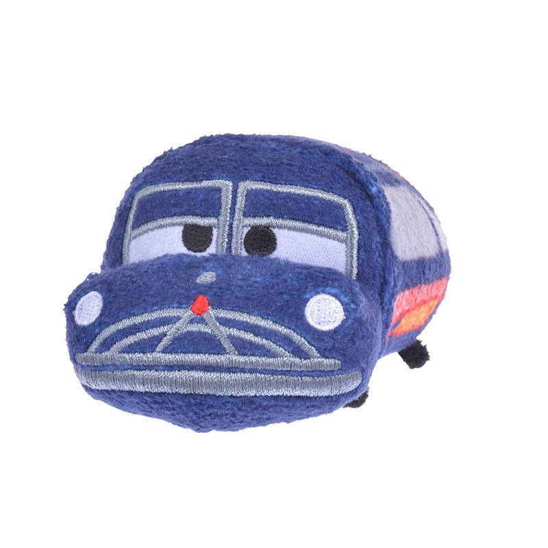 【真愛日本】4936313578010 tsum娃-汽車總動員-韓大夫BAM 迪士尼 娃娃 玩偶 疊疊樂 螢幕擦