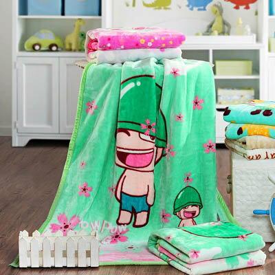 【法蘭絨童毯-100*140cm-1款/組】加厚嬰兒兒童毯子保暖蓋毯寶寶卡通毛毯-7101008