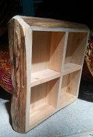 鄉村風zakka雜貨到北歐鄉村風 手作素色 木製 收納盒 分類盤 分類盒 容器 厚版 可當花盆 放小物 擺飾 造景