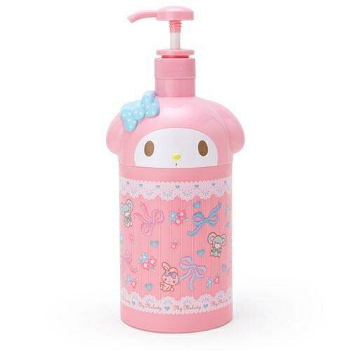 【百倉日本舖】日本進口 三麗鷗美樂蒂沐浴乳空壓瓶.洗髮精空壓瓶1000ml