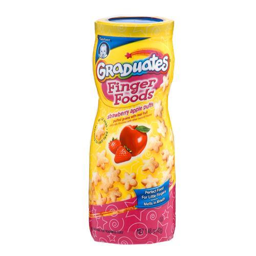 嘉寶星星餅乾蘋果草莓42g【愛買】