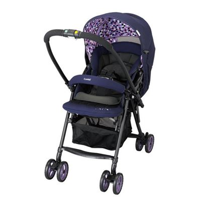 ※Combi Well Comfort EG 雙向輕量手推車 (紫)