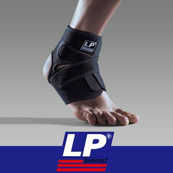 萬特戶外運動 LP護具 757CA 高透氣分段可調式踝束套 COOLMAX 乾爽 黑色 單一尺寸
