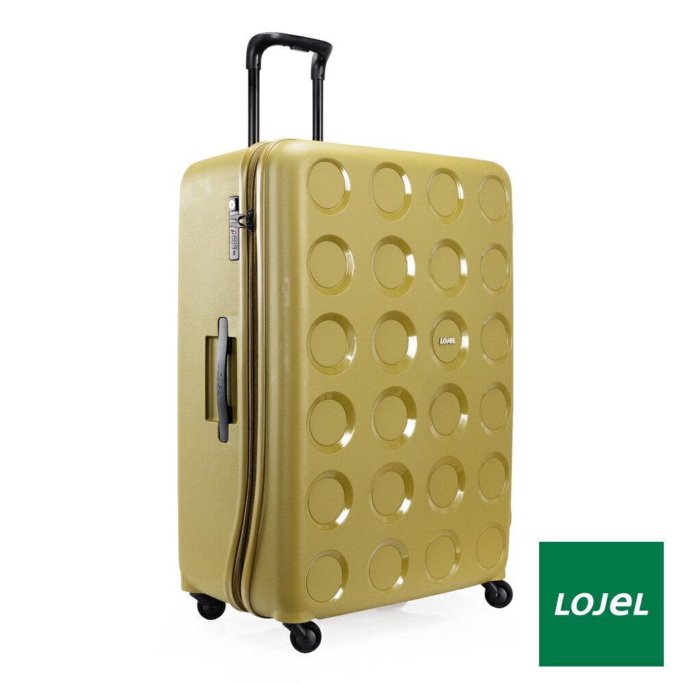 【日本 LOJEL】日本設計 31吋 橄欖綠 PP VITA 拉鍊(登機 行李箱 / 旅行箱)