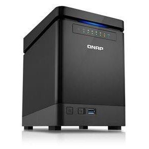 ~╯新風尚潮流╭~ QNAP 中小企業用 NAS 儲存設備 2GB RAM 可裝4顆硬碟