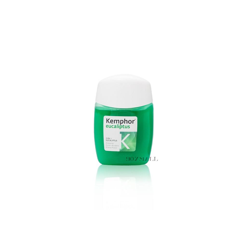 【西班牙 KEMPHOR】清新洗漱2IN1牙膏 75ML - 尤加利抗菌漱口水