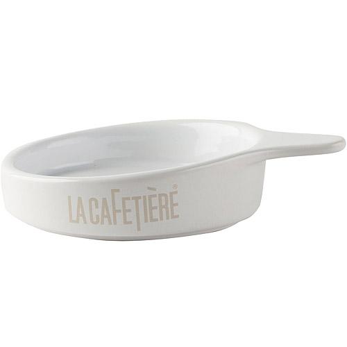 《CreativeTops》Cafetiere陶製茶包盤(白)