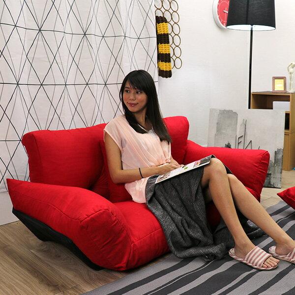 雙人沙發  貴妃椅  扶手沙發《日系扶手雙人沙發床椅》-台客嚴選 2