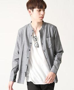 府綢襯衫灰色葛倫格紋