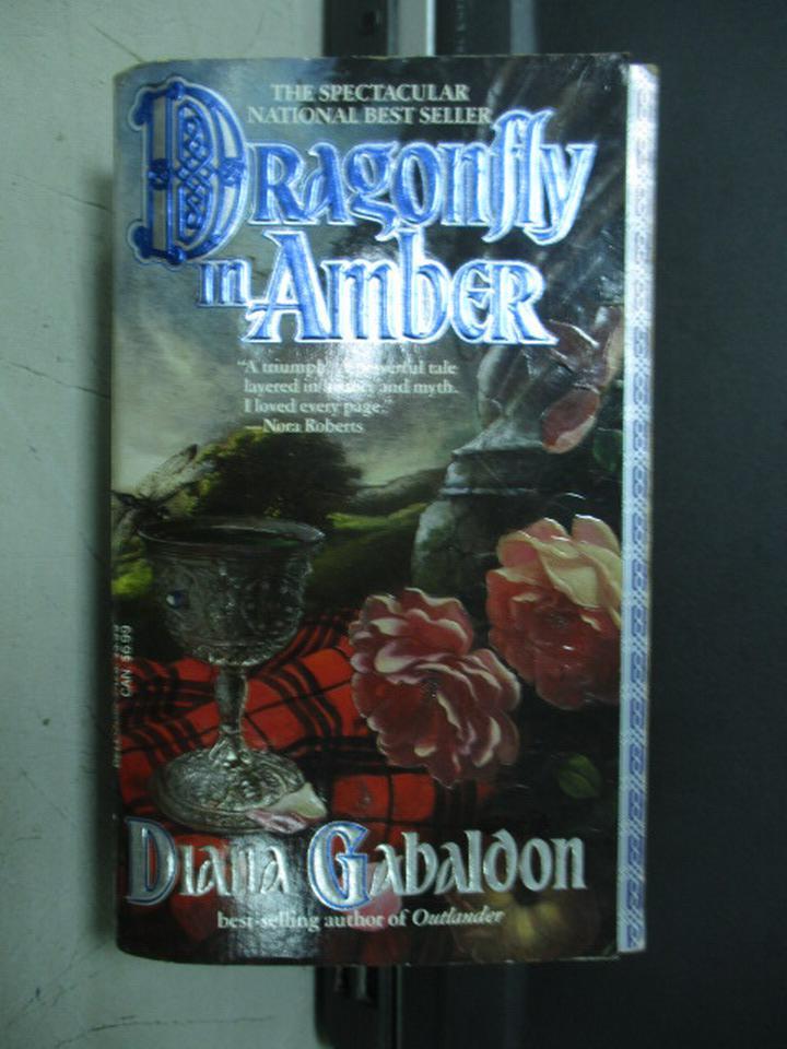 【書寶二手書T3/原文小說_JQH】Dragonfly in Amber_1992