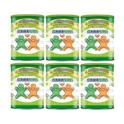 momo 成長酵素植物奶(900g×6罐)-奶素