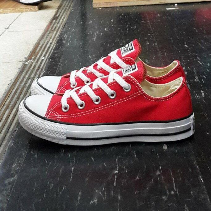 Converse Chuk Taylor All Star 基本款 低筒 帆布 紅色 經典款 M9696C