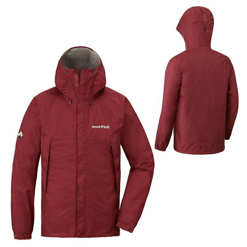 【【蘋果戶外】】mont-bell 1128600 紅棕 日本 男 防水透氣外套 類Gore-tex 防水外套 雨衣 風衣 風雨衣