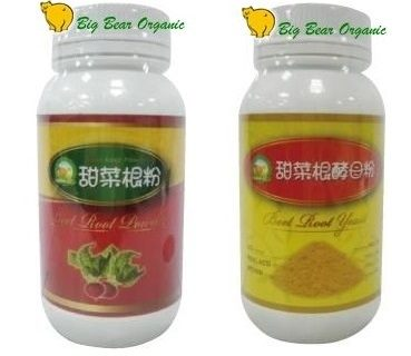 大熊健康 甜菜根粉/甜菜根酵母粉 200g/瓶