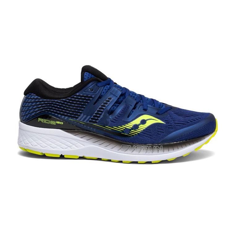saucony 男 RIDE ISO EVERUN 跑鞋SY20444-4【海軍藍】 /  城市綠洲 (跑鞋、戶外休閒鞋、EVERUN) 1