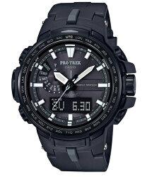 CASIO PROTREK PRW-6100Y-1B 專業登山雙顯電波腕錶/52mm