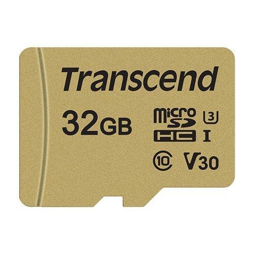 【新風尚潮流】創見記憶卡32GBMicro-SD讀95MB寫60MB支援U3TS32GUSD500S