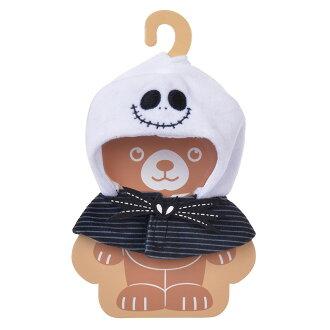 【真愛日本】17052600004 專賣店大學熊角色服裝-傑克BAJ 迪士尼專賣店限定 娃娃衣服 裝飾