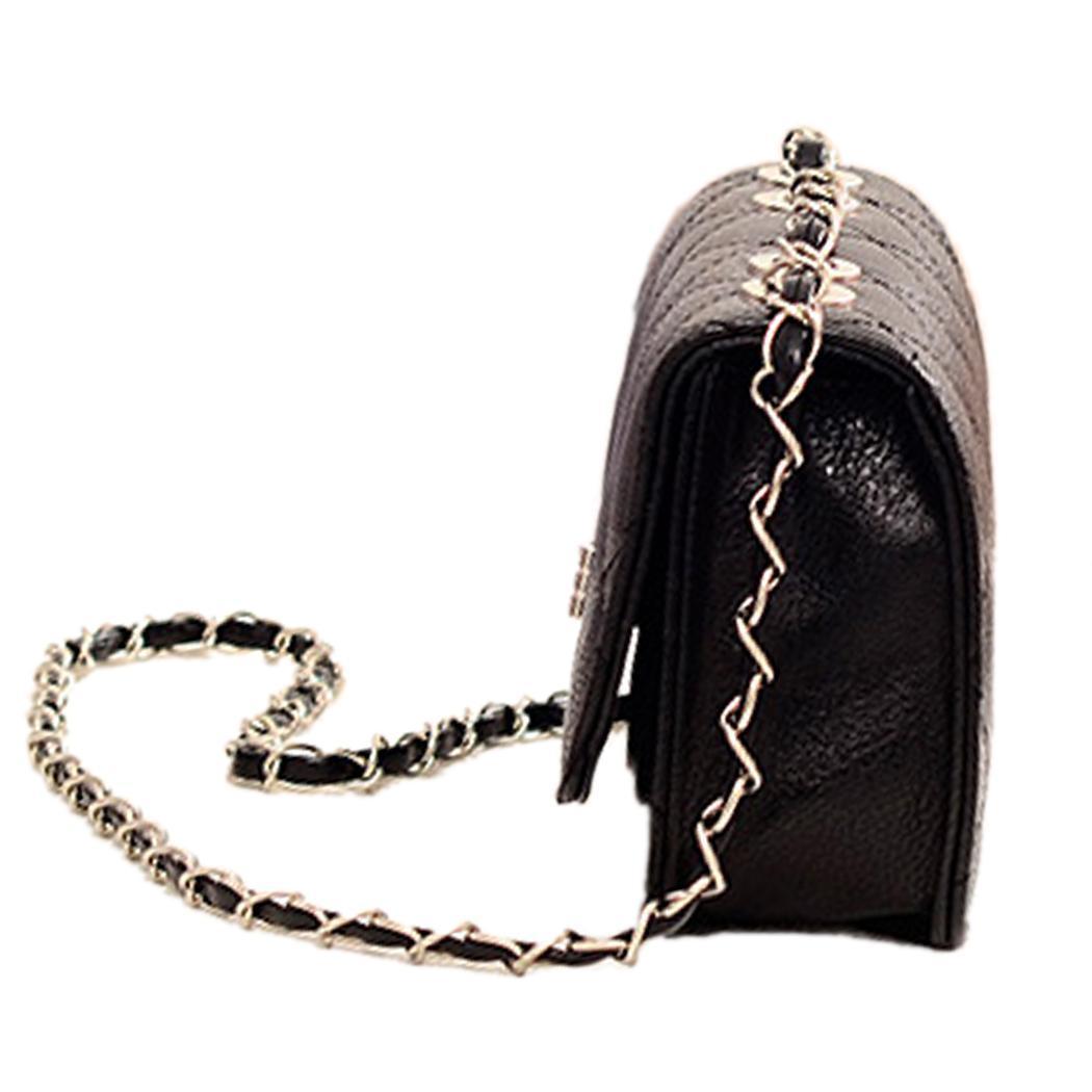 Leather Mini Chain Shoulder Handbag Purse 3