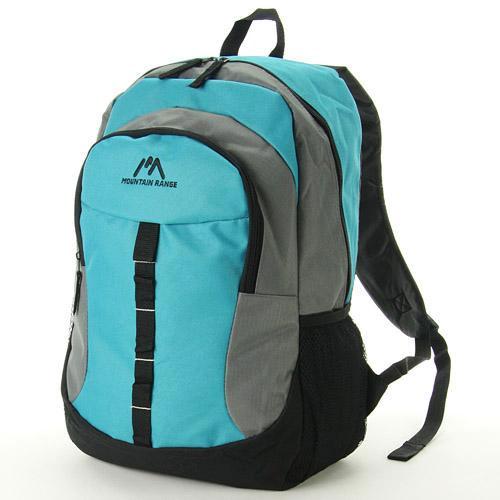 Mountain Range 藍色 尼龍後背包 18公升大容量 日本帶回正版商品