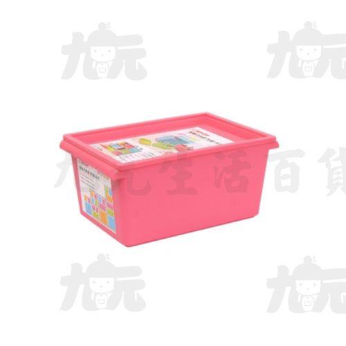 【九元生活百貨】聯府PQ-102小家樂收納盒(附蓋)置物收納PQ102
