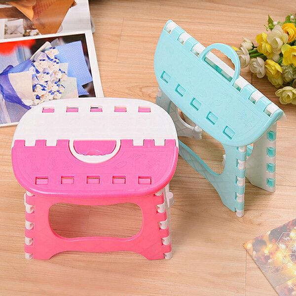 BO雜貨【SV9612】可摺疊 手提 便攜式折疊椅 兒童 成人 手提塑膠小板凳 戶外露營 野餐 釣魚 烤肉椅 旅行戶外