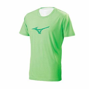 32TA701135(螢光綠)吸汗快乾 合身版 大火鳥 男短袖T恤【美津濃MIZUNO】