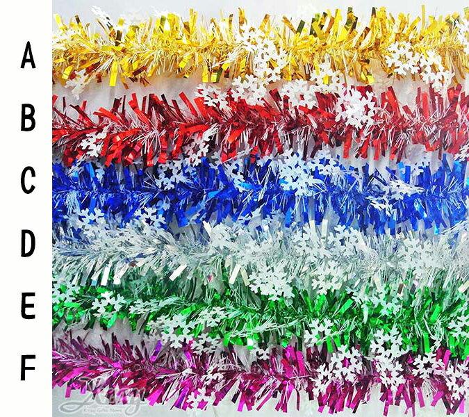 X射線 【X450778A】大雪花寬窄條(綜合下標區),聖誕節/彩條/佈置/裝飾/擺飾/會場佈置/交換禮物/金蔥條/櫥窗/店面裝飾/道具/吊飾