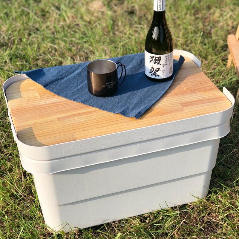 無印良品 露營/野餐 耐壓收納箱專用桌板 收納箱桌板 柳安夾板/松木板 單片式 MUJI/AZUMAYA 八刀草 NO.26