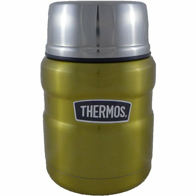 【THERMOS 膳魔師】不鏽鋼真空保溫罐/悶燒罐 PA-3000 (金色)