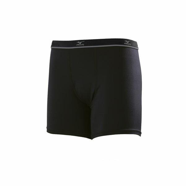 32TB7A0109(黑)吸汗怏乾、消臭處理 短型男運動內搭褲【美津濃MIZUNO】