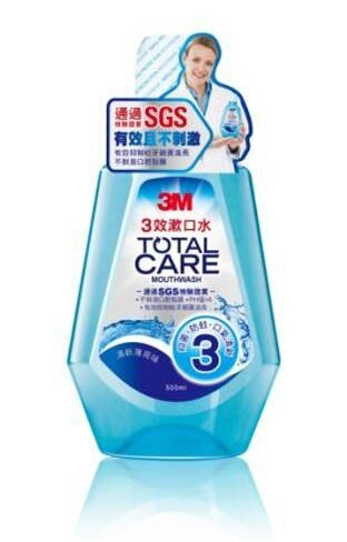 3M 三效漱口水 500ml/瓶★愛康介護★