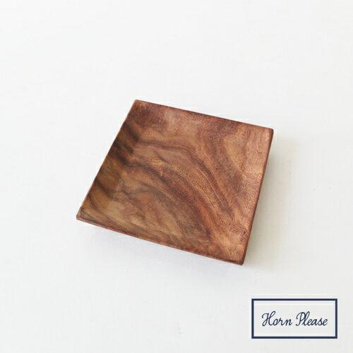 木頭紋理製物盤(正方形)