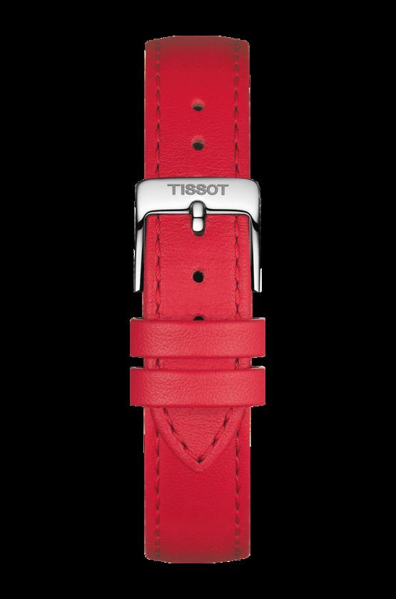 TISSOT 天梭 T1032101601800 BELLA ORA 皮帶石英女腕錶 38mm 2