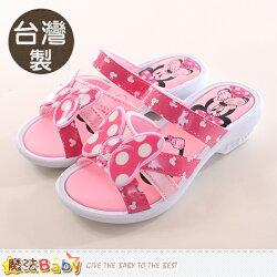 女童鞋 台灣製迪士尼米妮正版涼拖鞋 魔法Baby~sk0070