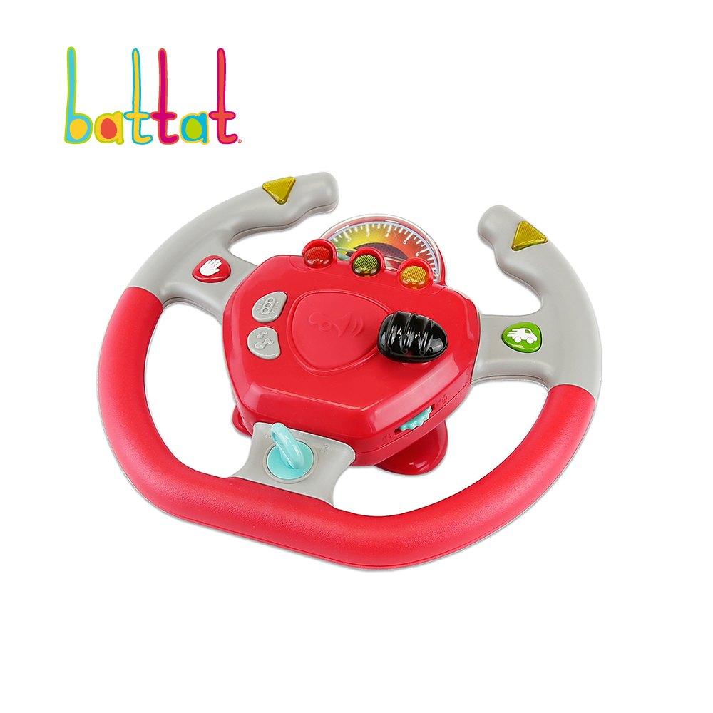 美國 B.Toys -遛遛公路方向盤【米菲寶貝】